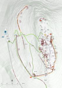 Mappa archeologica della Civitella
